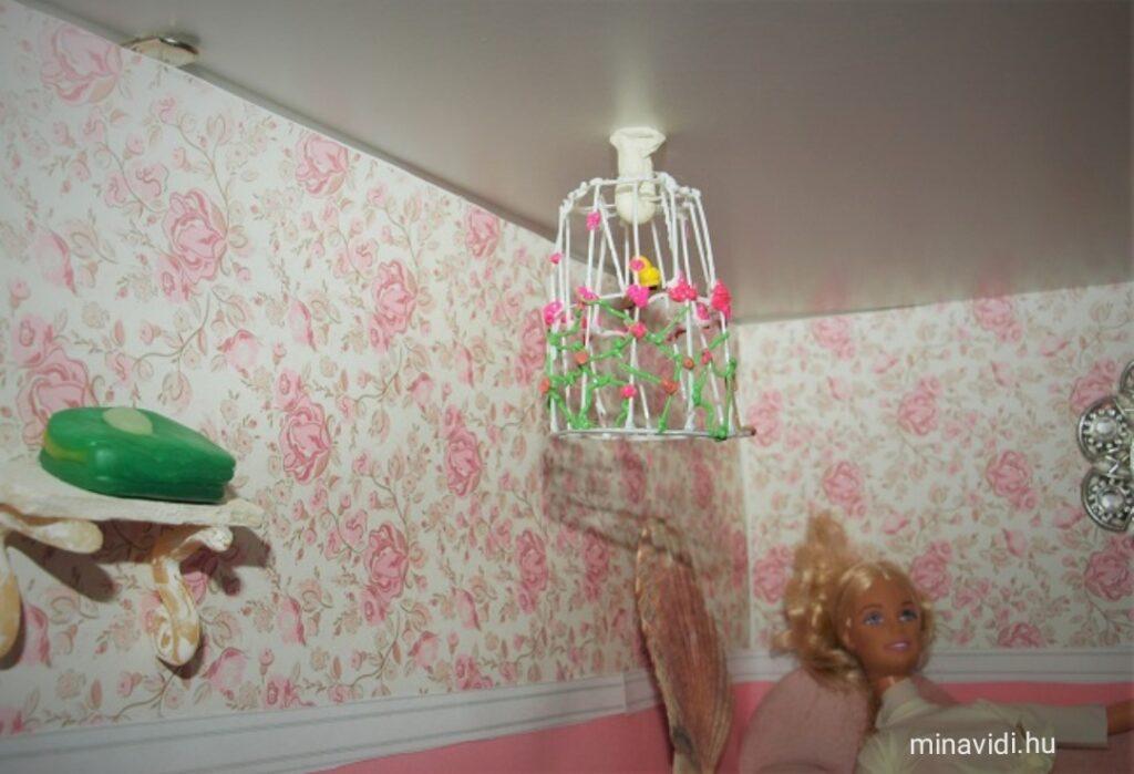 Barbie-szoba kalitka