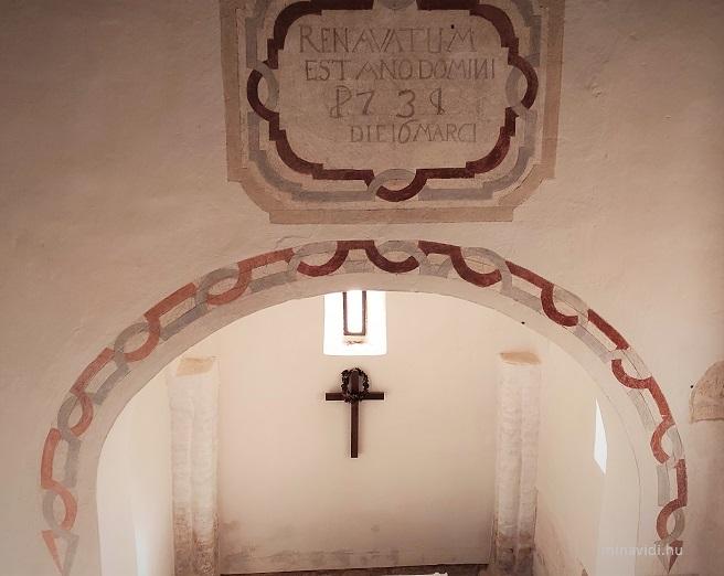 Egregy templombelső