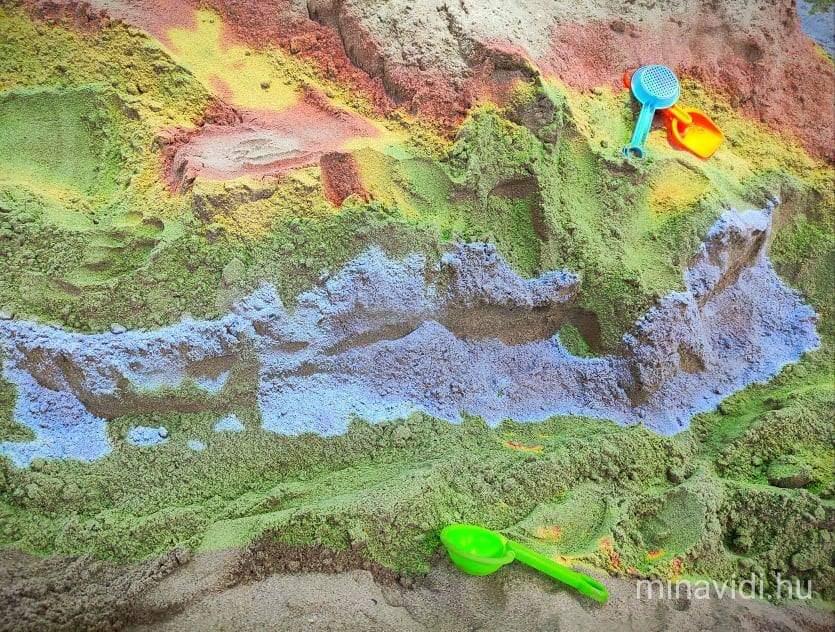 Zobori Élménypark homokozó